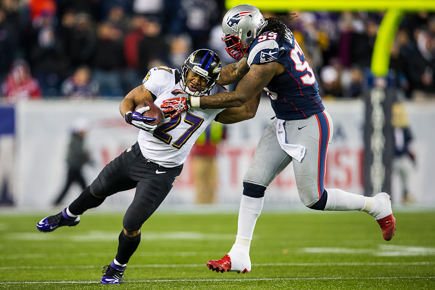 Nfl Football Players In Action: Ravens Photographer's Awesome AFC Championship Game Shots